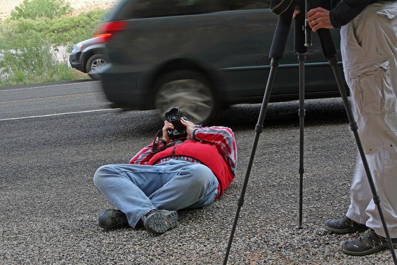 Getting THE shot; Mark Z. - Utah: May, 2008