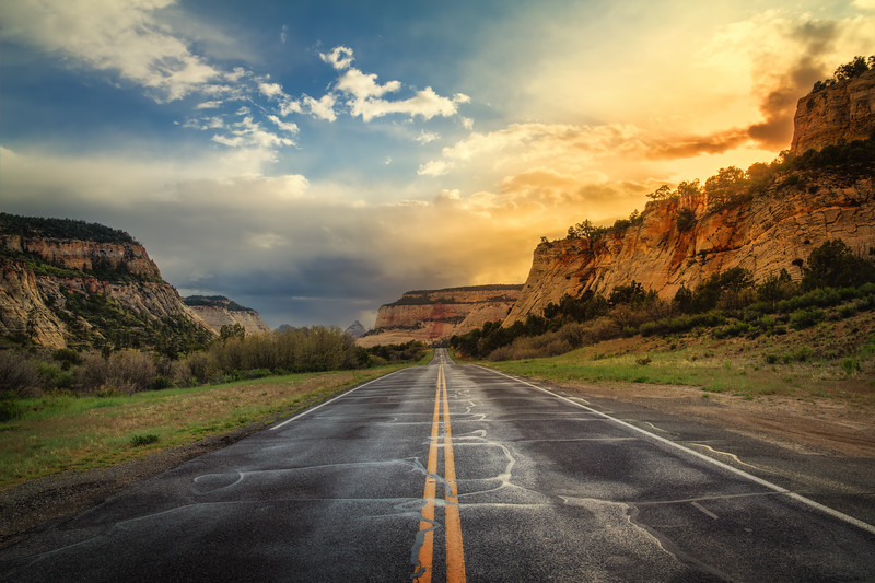 Travel Photography Blog - USA. Utah. Zion National Park