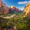 Angels Landing Trail in Zion National Park (Utah)
