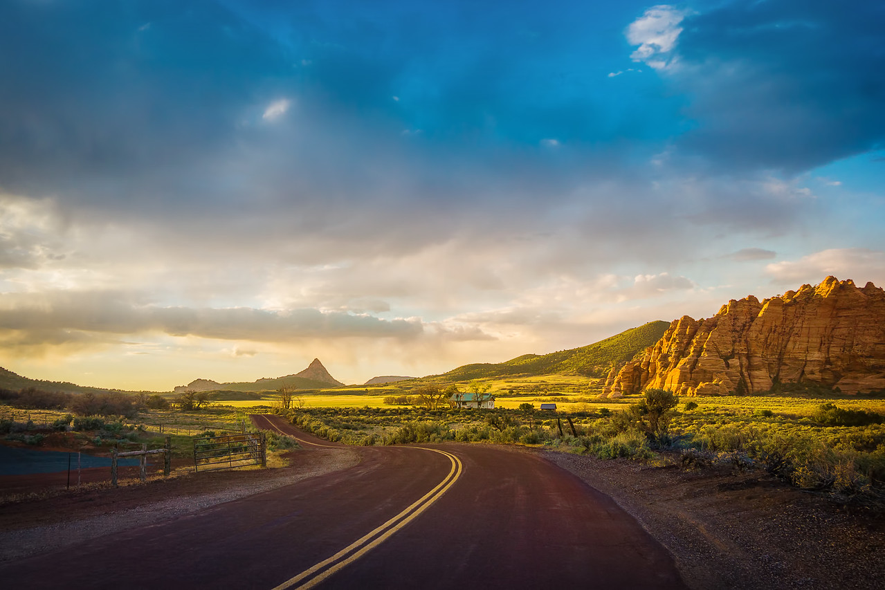 Driving Trip Through Utah