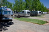 a caravan of 34 Airstreams moved in