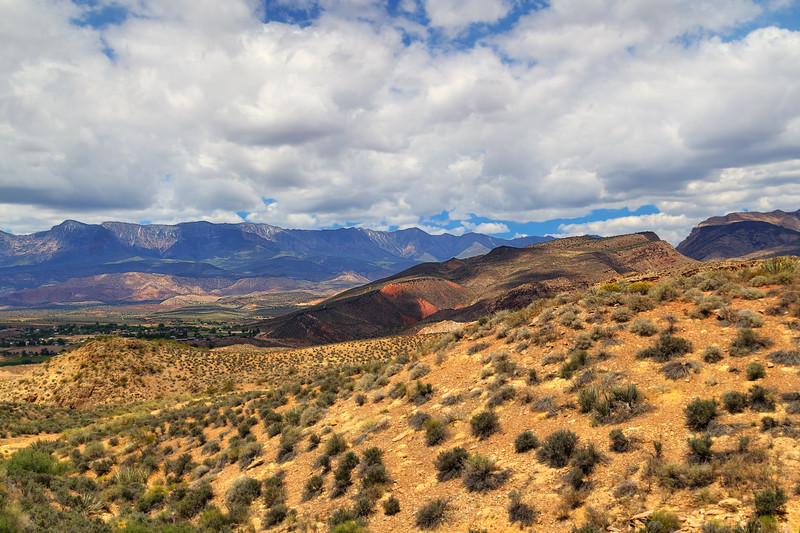Travel Photography Blog - USA. Utah. Drive to Nevada