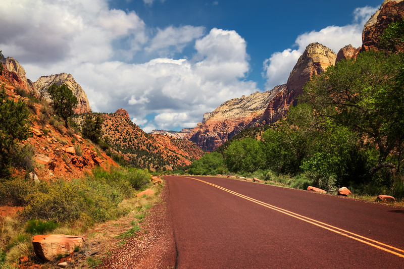Travel Photography Blog - USA. Utah. Zion National Park