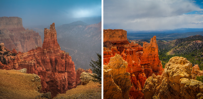Travel Photography Blog - Utah. Bryce Canyon National Park - Swamp Canyon Point
