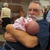With Grandpa Finkenstadt at Bridgehaven