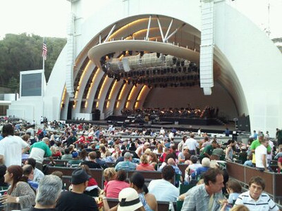 VARIOUS EVENINGS AT THE HOLLYWOOD BOWL
