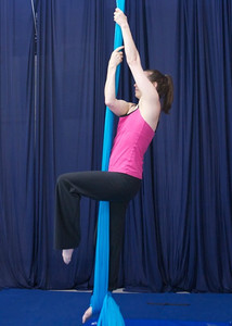 arabesque, reverse grip entrance