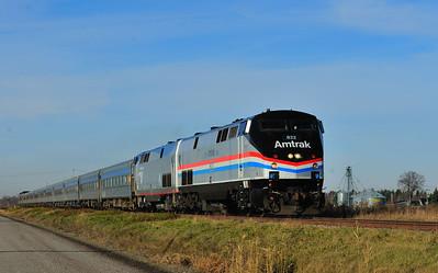 Amtrak Special, L'Acadie, Qc