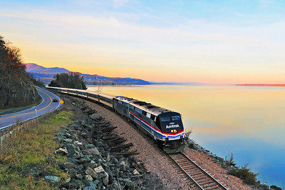 Amtrak Special, Port Henry, Qc
