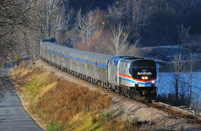 Amtrak Special, Port Kent, N.Y