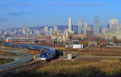 Amtrak Adirondack, Montreal(Pointe St-Charles) Qc.