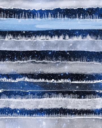 Winter Layers - Night