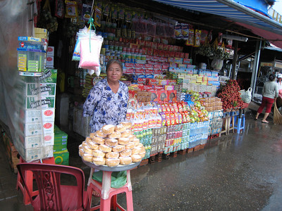 A market way south of HCMC