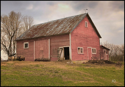 An Old Sheep barn..