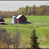 Horse farm in Hinnesburg.. I love the way this barn sits up on the hill i've photographed it many times  this was in the spring of this yr.
