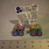 "Subway ""Clear Gears"" kids pack toy bugs. One in unopened package. 1997"
