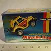 """RadioShack wire controlled """"Wheelie"""" bug still in box"""