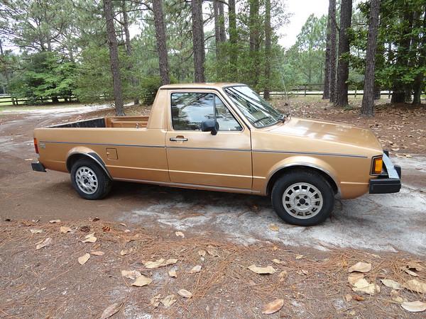 VW diesel Caddy pickup