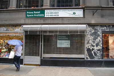 Vacant Store - Madison Avenue Between 45th & 46th Sts