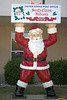 Santa Claus Post<br /> <br /> This is in front of the Post Office in Santa Claus, IN.