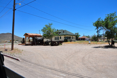 A residence at Goldfield, NV.