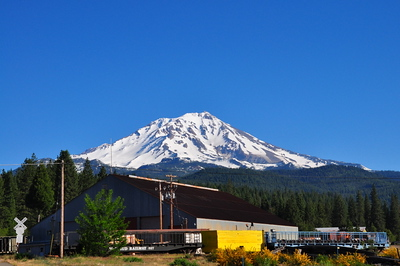 Mt. Shasta from McCloud, CA