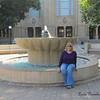 Me. On a fountain's edge.