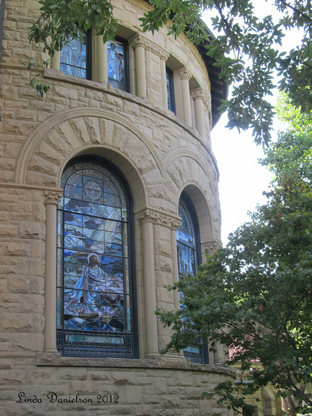 Memorial Church windows, Stanford University