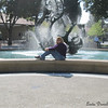 Me at the same fountain, 2012.  (too many years later to count! haha)