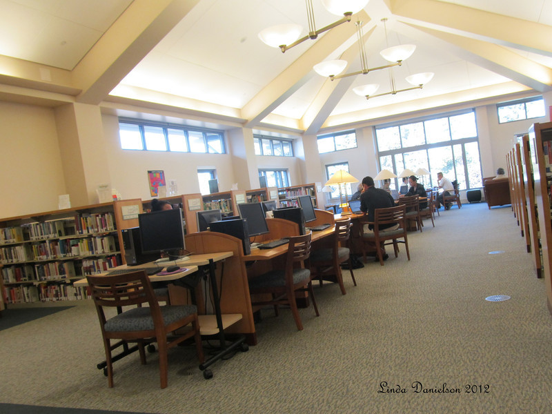 Great rooms, good space, lots of light.  It's a beautiful library!