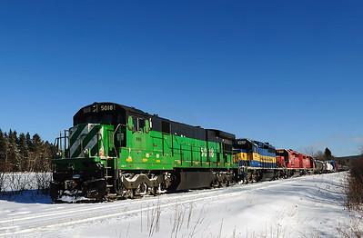 Montreal Maine & Atlantic #1, Vachon Siding, Qc
