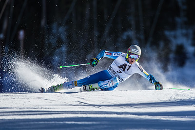 Ted Ligety demonstates finesse through the Screech Owl section of the Birds of Prey giant slalom in Beaver Creek on Sunday. Despite a broken wrist, Ligety managed to seal his  23rd win in World Cup giant slalom.23rd win in World Cup giant slalom.