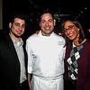 Chris Godson, Chef Evan Turney and Faith Proetto