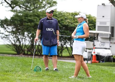 Valdís Þóra Jónsdóttir, US Open 2017. Mynd/seth@golf.is