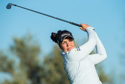 Valdis Thora Jonsdottir of Iceland during the second round