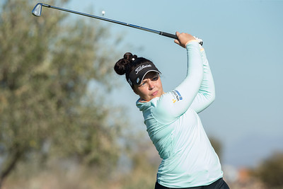 Valdis Thora Jonsdottir of Iceland during the final round