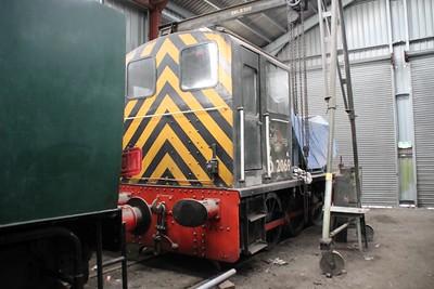0-6-0DM D2069 (03069) seen at GWR     05/05/12