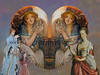 DOVE LOVE -GREUZE -COPLEY-CARD & SMUG-