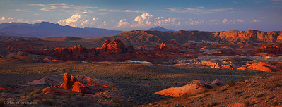 Distant Views in Valley of Fire, State Park Nevada