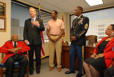 Van Hollen Awards Tuskegee Airmen's Congressional Gold Medal to DOTA Major Edward Talbert