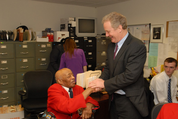 Van Hollen Awards Tuskegee Airmen's Congressional Gold Medal Replicate to DOTA Major Edward Talbert