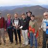 Vance leading Sierra Club hike up Elk Knob, Elk Knob State Park, December 14, NC 2013.