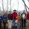 Vance leading Sierra Club hike up Elk Knob, Elk Knob State Park, NC 2013.