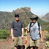 My friend Bob Merrill and Vance, Lost Mine Hike, Big Bend National Park, TX 2013.