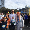 Vance with sis-in-law Tracy and nephews Henry and Harrison before the Austin Turkey Trot 5 mile run, Thanksgiving morning 2013.
