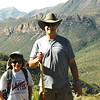 My nephew Henry and Vance, Lost Mine Hike, Big Bend National Park, TX 2013.