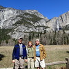 Vance with U.S. Park Ranger friends Margaret and Charles Repath, Yosemite Valley, March 2014.
