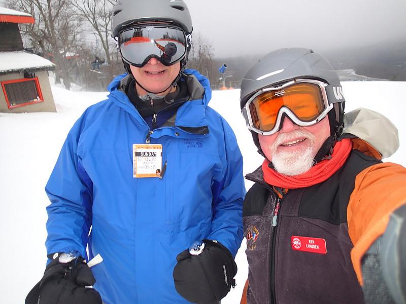Vance and Ken Lumsgren Appalachian Ski Mountain, NC 2013.