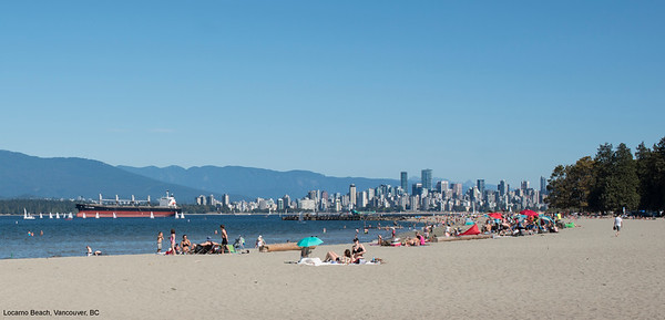 Beaches of Vancouver, British Columbia