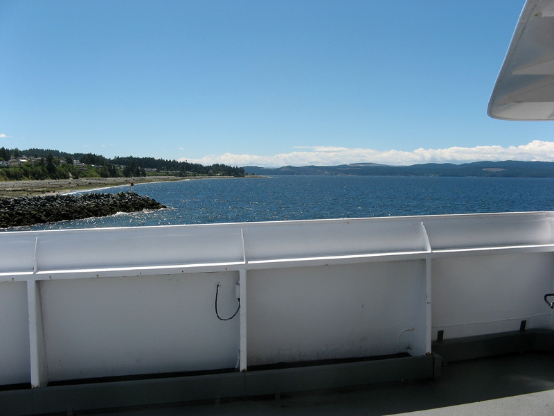 Powel River to Comox
